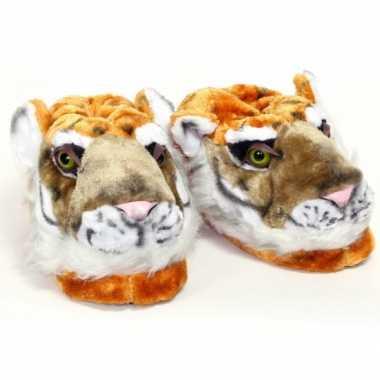 Kinder pantoffels tijger
