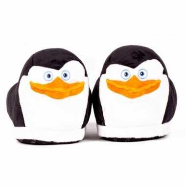 Pantoffels dierensloffen pinguin skipper voor kids kind