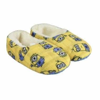 Pantoffels gele minions kindersloffen verschrikkelijke ikke
