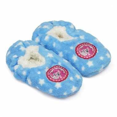 Pantoffels kinderslof my little pony blauw voor meisjes