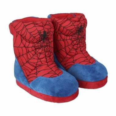 Spiderman 3d sloffen/pantoffels voor jongens kind