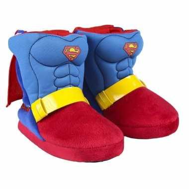 Superman 3d sloffen/pantoffels voor jongens kind