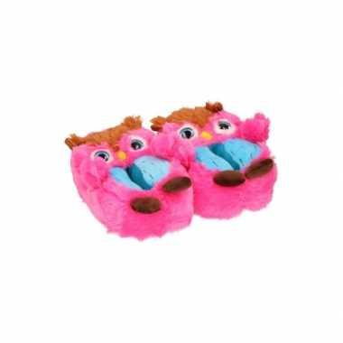 Uil pantoffels voor kinderen