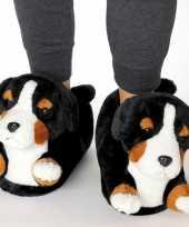 Dieren berner sennen hond pantoffels sloffen voor kinderen maat 34 36