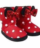 Disney minnie mouse 3d sloffen pantoffels voor meisjes kind