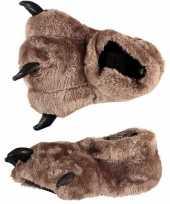 Kinder pantoffels berenpoot