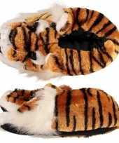 Kinder pantoffels tijger 10071659